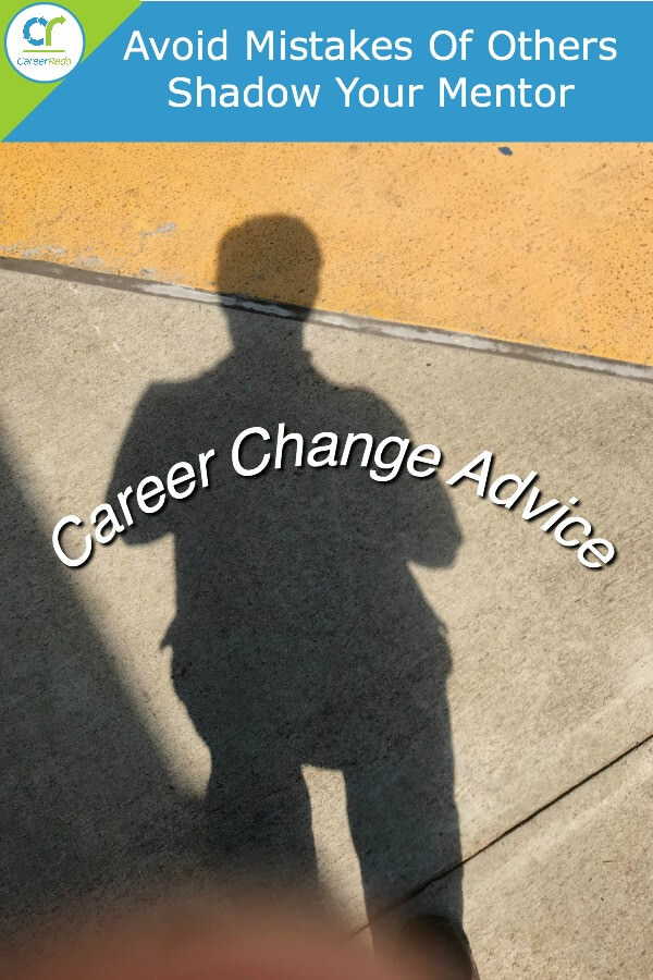 Career Change Ideas - Shadow Your Mentor to learn
