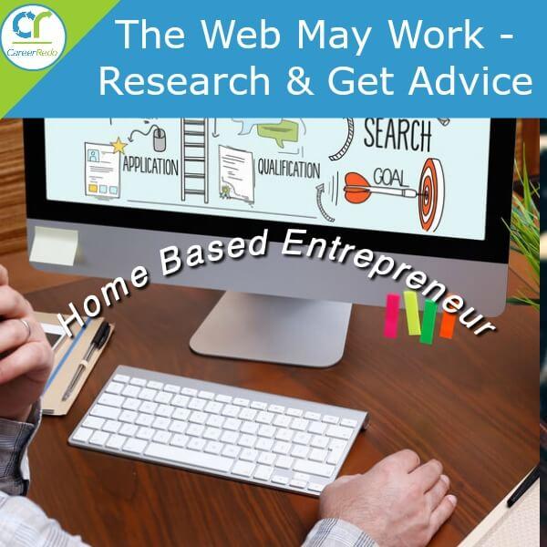 Home based entrepreneur has flexibility