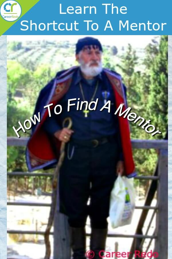 How to find a mentor - Work at it!