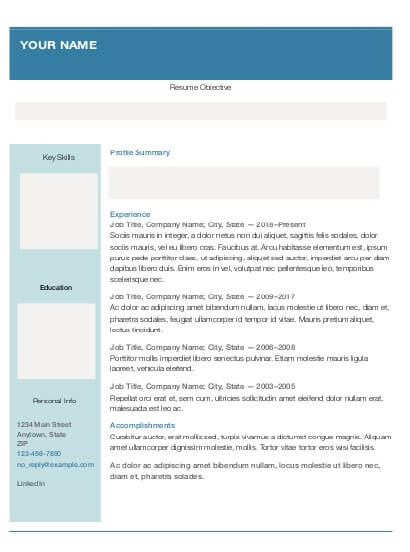 Find your career change resume