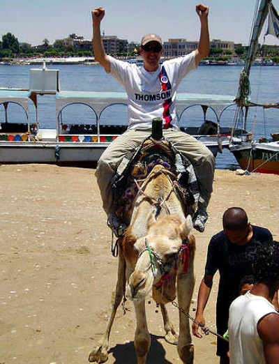 You can even be a camel driver
